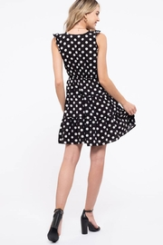 Day to Day Polka Dot Tiered Dress - Other