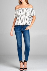 Active USA Polka Dot Top - Product Mini Image