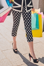 Katherine Barclay Polka Dot Trousers - Product Mini Image