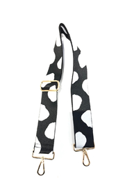 Ah!dorned Polka Dot Webbed Handbag Strap - Product Mini Image