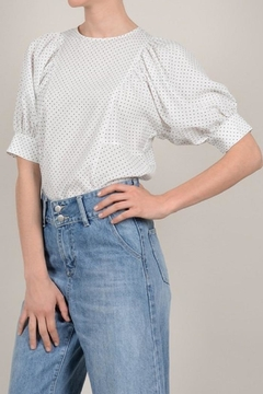 Molly Bracken Polka Dots Blouse - Product List Image