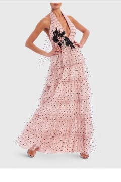 Forever Unique Polka Ruffle Maxi - Product List Image
