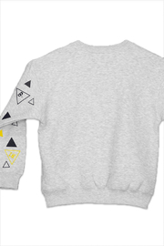 Shapes Of Things Polka Triangle Sweatshirt - Front full body