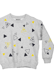 Shapes Of Things Polka Triangle Sweatshirt - Front cropped
