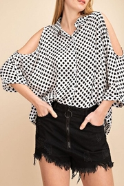 Mittoshop Polkadot Cold Shoulder - Product Mini Image
