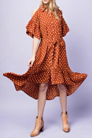 easel Polkadot Dress - Product Mini Image