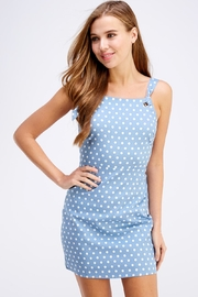 lunik Polkadot Mini Dress - Product Mini Image
