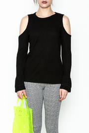 Polly & Esther Cold Shoulder Top - Front full body