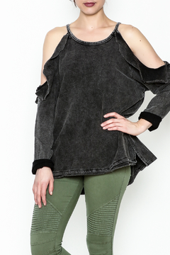 Polly & Esther Cold Shoulder Top - Product List Image