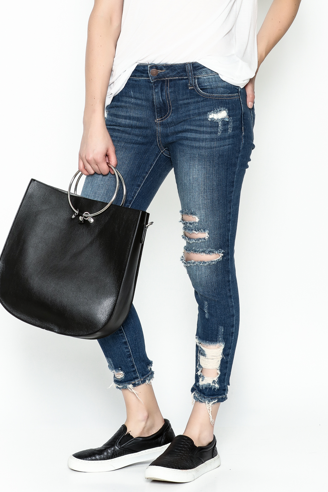 Polly & Esther Denim Jeans - Main Image