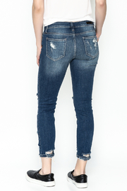 Polly & Esther Denim Jeans - Back cropped