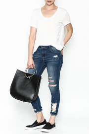 Polly & Esther Denim Jeans - Side cropped