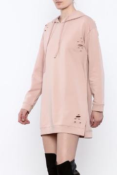 Polly & Esther Distressed Sweatshirt Dress - Product List Image