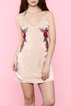 Shoptiques Product: Floral Satin Dress