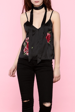 Shoptiques Product: Floral Satin Top