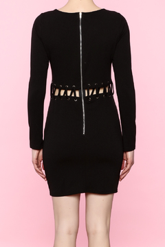Shoptiques Product: Black Long Sleeve Dress