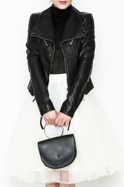 Polly & Esther Leather Jacket - Product Mini Image