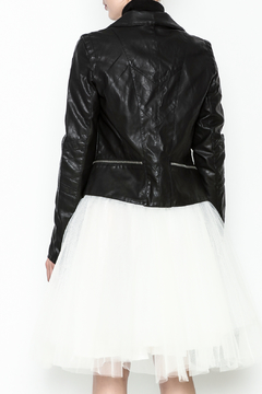 Polly & Esther Leather Jacket - Alternate List Image