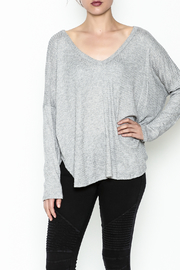 Polly & Esther Lilac Sweater - Front cropped