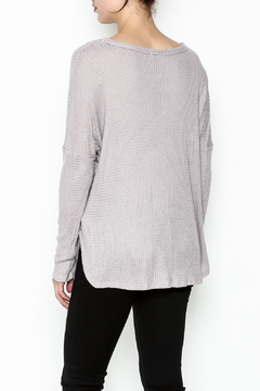 Polly & Esther Lilac Sweater - Alternate List Image