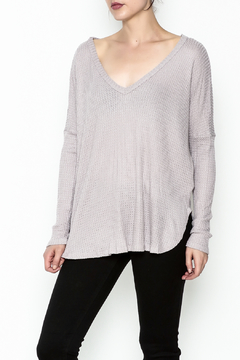 Polly & Esther Lilac Sweater - Product List Image