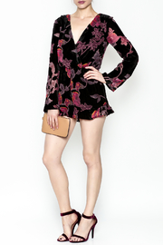 Polly & Esther Long Sleeve Romper - Side cropped