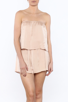 Shoptiques Product: Tube Top Layered Romper