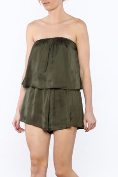 Shoptiques Product: Strapless Layered Romper