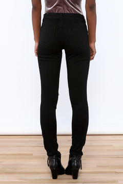 Shoptiques Product: Ripped Knee Skinny Jeans