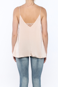 Polly & Esther Satin Lacey Top - Alternate List Image