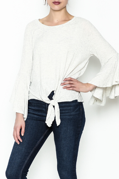 Polly & Esther Tie Front Top - Product List Image