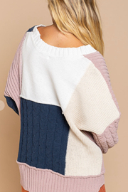 POL  Polly Color Block Sweater - Front full body