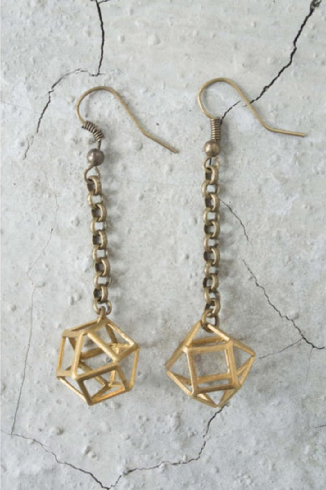 Regina Andrew Polly Earrings - Side Cropped Image