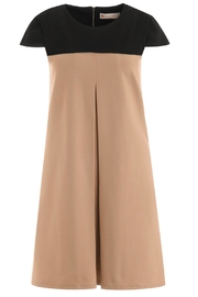Jude Connally Polly-Ponte Swing Dress - Side cropped