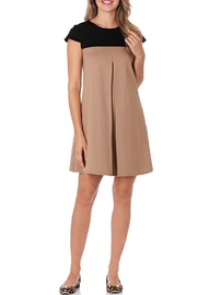 Jude Connally Polly-Ponte Swing Dress - Front cropped