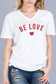 Polly & Esther Be Love Top - Product Mini Image