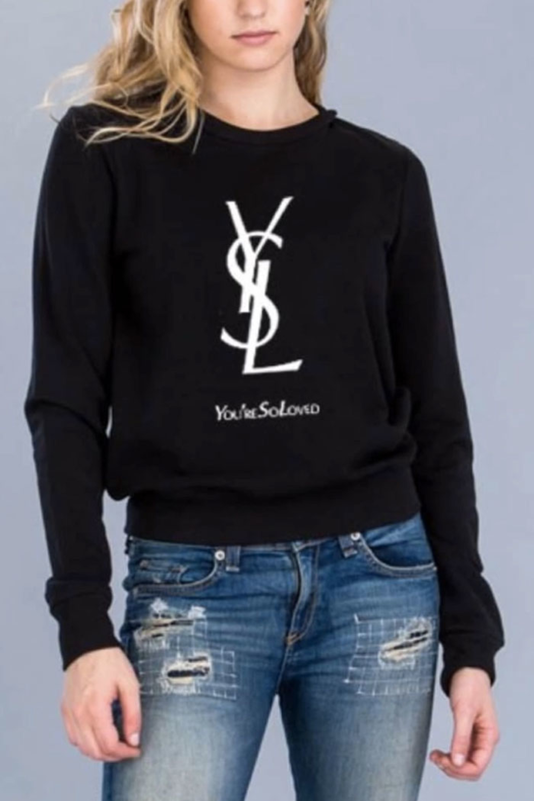 Polly & Esther YSL Crewneck Sweater - Main Image