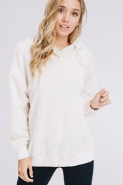 Polly & Esther Faux Fur Hoodie - Product Mini Image