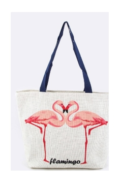 Shoptiques Product: Flamingo Beach Bag