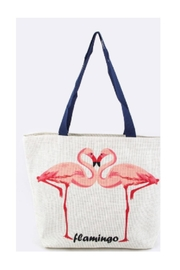 Polly & Esther Flamingo Beach Bag - Product Mini Image