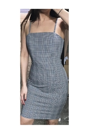 Polly & Esther Glen Plaid Dress - Product Mini Image