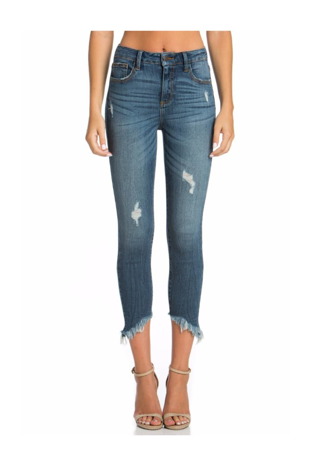 Polly & Esther High Waisted Jeans - Main Image