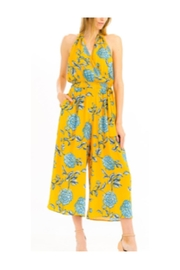 Polly & Esther Mustard Jumpsuit - Product Mini Image