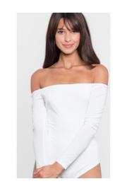 Polly and Esther Off Shoulder Bodysuit - Product Mini Image