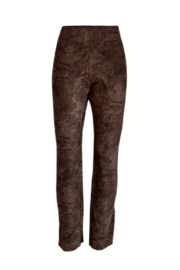 Ethyl  Poly suede leggings print - Product Mini Image