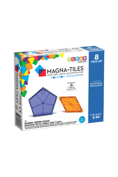 Valtech - MagnaTiles Polygons Expansion 8 Piece Set - Product List Image