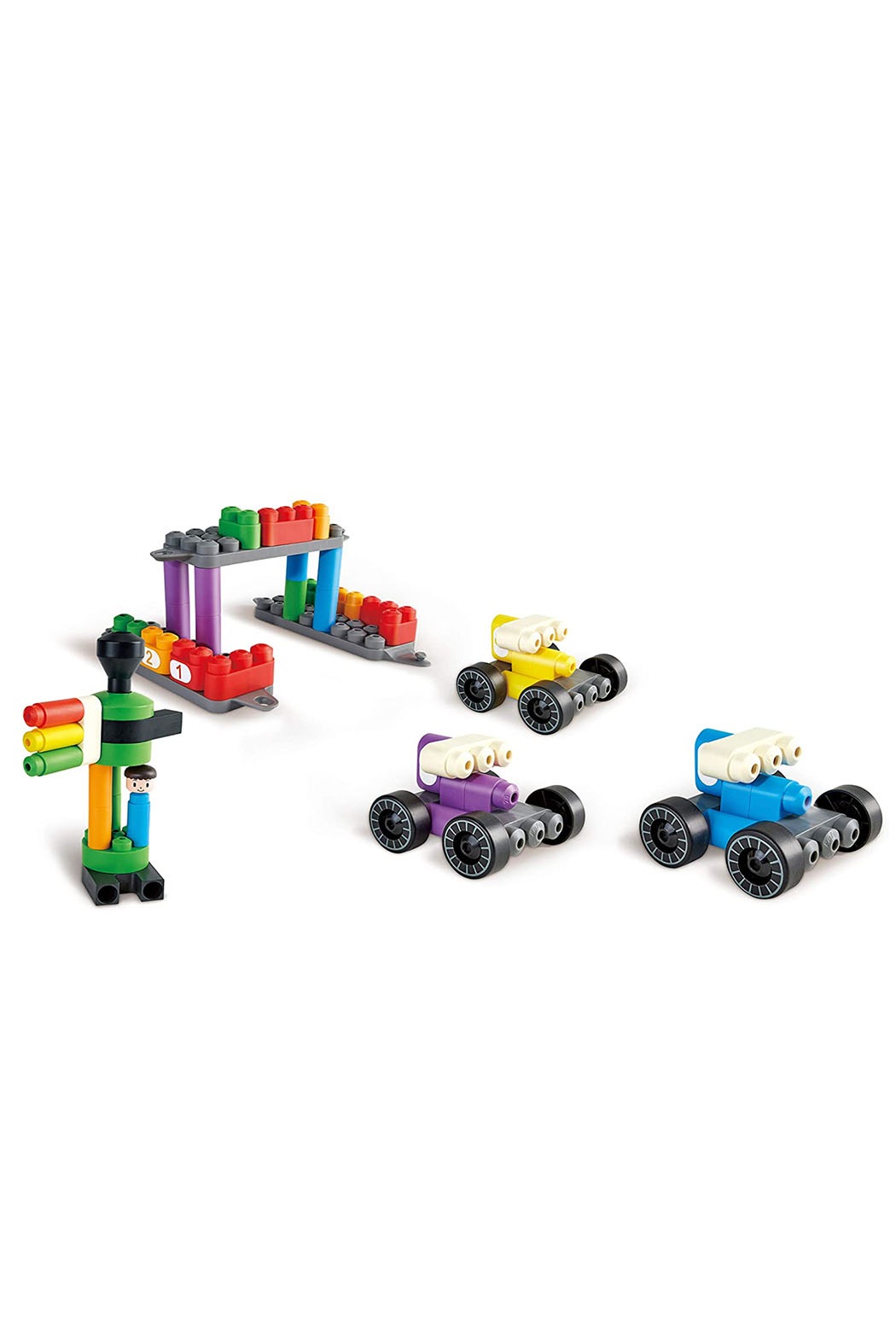 Hape Polym Construction Site | 43Piece - Side Cropped Image