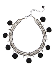 NAKAMOL CHICAGO Pom Beaded Choker - Product Mini Image