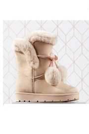 Giftcraft Inc.  Pom Pom Boots - Product Mini Image