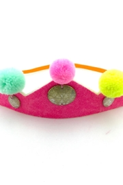 Everbloom Pom Pom Crown - Front cropped
